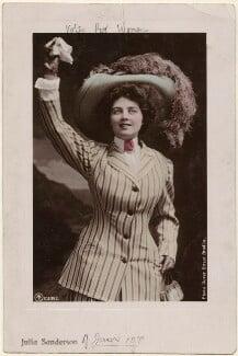 Julia Sanderson, by The Dover Street Studios Ltd, published by  Aristophot Co Ltd - NPG x45193