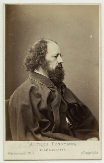 Alfred, Lord Tennyson, by London Stereoscopic & Photographic Company - NPG x45210