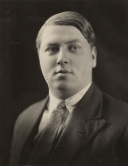 Chamberlain Michael Hildebrand Harmsworth, by Dudley Glanfield - NPG x45289