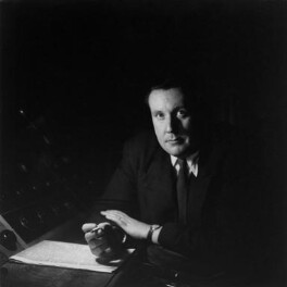 Sir Malcolm Henry Arnold, by Lida Moser, 1953 - NPG x45309 - © National Portrait Gallery, London