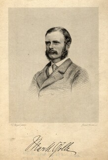 Mark George Kerr Rolle, by Joseph Brown, after  John Jabez Edwin Mayall - NPG D10788