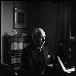 Sir Arthur Bliss, by Lida Moser - NPG x45312