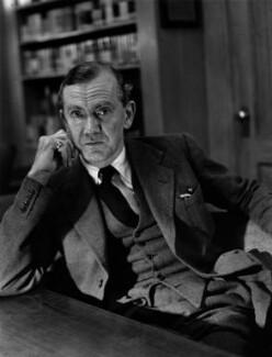 Graham Greene, by Lida Moser - NPG x45318