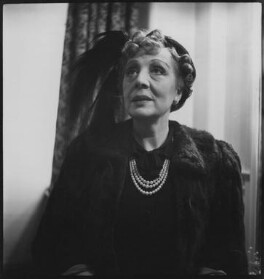 Dame Edith Evans (Dame Edith Mary Booth), by Lida Moser - NPG x45321