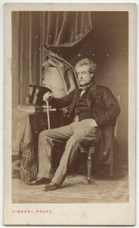 Colin Campbell, 1st Baron Clyde, by Disdéri - NPG x45341