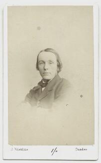 William Edward Baxter, by James Valentine - NPG x45465