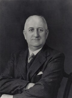 Sir Josiah Crosby, by Walter Stoneman - NPG x45476