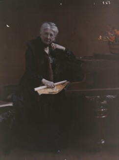 Mary Edis (née Murray), by Olive Edis - NPG x45506