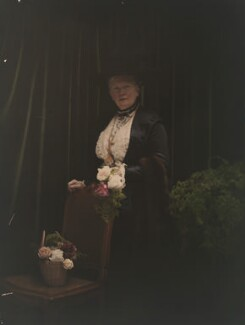Mary Edis (née Murray), by Olive Edis - NPG x45507
