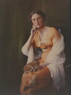 Katharine Legat (née Edis), by Olive Edis - NPG x45518