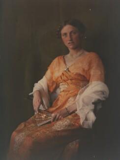 Katharine Legat (née Edis), by Olive Edis - NPG x45519