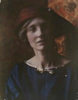 Katharine Legat (née Edis), by Olive Edis - NPG x45520
