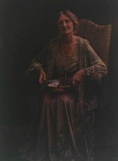 Katharine Legat (née Edis), by Olive Edis - NPG x45522