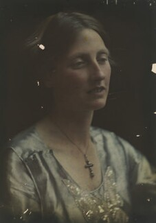 Katharine Legat (née Edis), by Olive Edis - NPG x45539