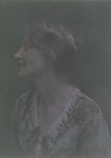 Katharine Legat (née Edis), by Olive Edis - NPG x45544