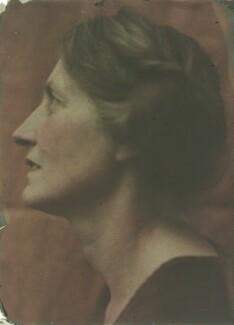 Katharine Legat (née Edis), by Olive Edis - NPG x45545