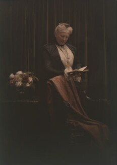 Mary Edis (née Murray), by Olive Edis - NPG x45546