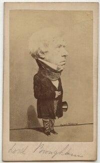 Henry Brougham, 1st Baron Brougham and Vaux, by Herbert Watkins - NPG x45589