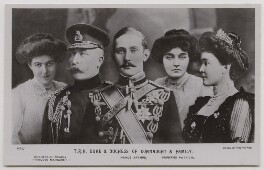'T.R.H Duke & Duchess of Connaught & Family', published by J. Beagles & Co, after  Lafayette, and after  Unknown photographers - NPG x45731