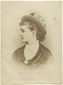 Princess Louise, Duchess of Connaught (née Princess of Prussia), by Unknown photographer - NPG x45763