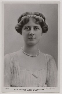 Princess Alexandra, Princess Arthur of Connaught, by Lallie Charles (née Charlotte Elizabeth Martin), published by  Rotary Photographic Co Ltd - NPG x45766