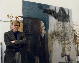 Alan Bennett, by Barry Wood - NPG x45810
