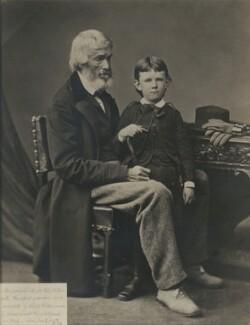 Thomas Carlyle; grandson of Ralph Waldo Emerson, by Unknown photographer - NPG x45941