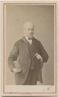 Sir George Scharf, by Nadar - NPG Ax29990
