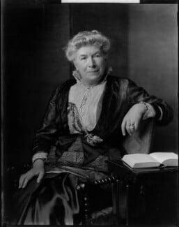 Mary Augusta Ward (née Arnold), by Henry Walter ('H. Walter') Barnett,  - NPG x46018 - © National Portrait Gallery, London