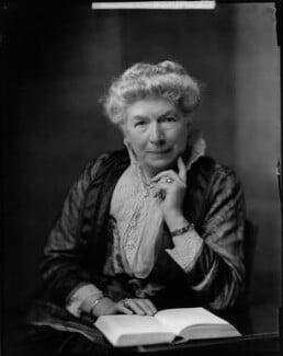 Mary Augusta Ward (née Arnold), by H. Walter Barnett - NPG x46019