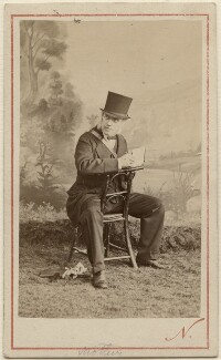 Sir George Scharf, by Nadar (Gaspard Félix Tournachon), 21 August 1867 - NPG  - © National Portrait Gallery, London