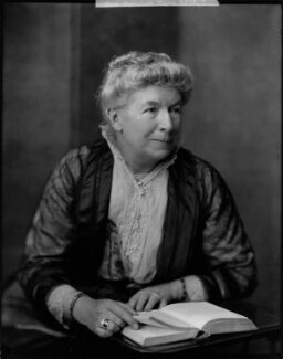 Mary Augusta Ward (née Arnold), by H. Walter Barnett - NPG x46020