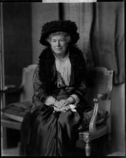 Mary Augusta Ward (née Arnold), by H. Walter Barnett - NPG x46023
