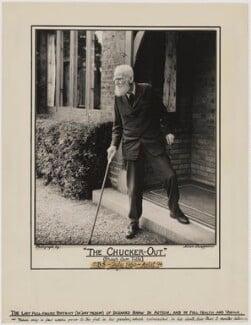 George Bernard Shaw, by Allan Chappelow - NPG x4604