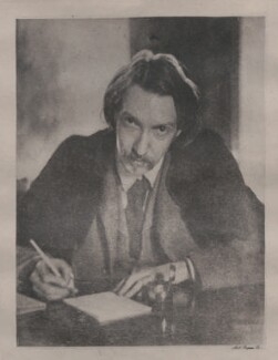 Robert Louis Stevenson, by Unknown photographer - NPG x4626