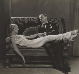 Gertrude Lawrence and Douglas Fairbanks Jr in 'Moonlight is Silver', by Dorothy Wilding - NPG x46509