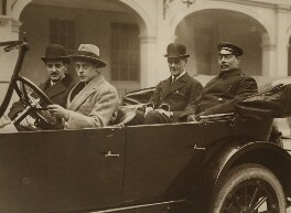Group including (Prince Edward, Duke of Windsor (King Edward VIII); Sir Lionel Halsey), by Photo Press - NPG x46524