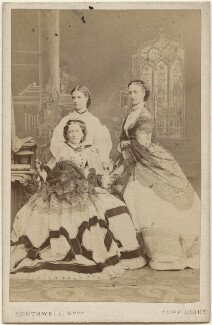 Louise, Queen of Denmark; Maria Feodorovna, Empress of Russia (Princess Dagmar); Queen Alexandra, by Southwell Brothers - NPG x46538