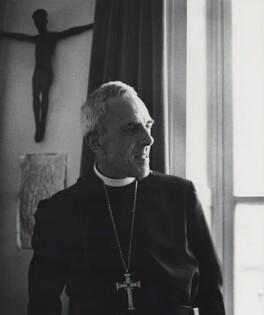 Trevor Huddleston, by Godfrey Argent, 1969 - NPG x46553 - © National Portrait Gallery, London