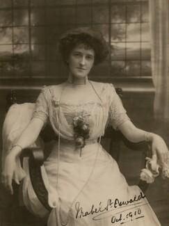 Mabel Susan (née Forbes), Lady St Oswald, by Bassano Ltd - NPG x46592