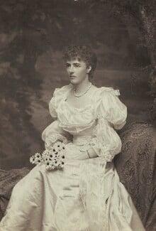 Evelyn Elizabeth Brinton (née Forbes), by Alice Hughes - NPG x46596