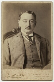 Cecil John Rhodes, by James Russell & Sons, circa 1880s - NPG x46639 - © National Portrait Gallery, London
