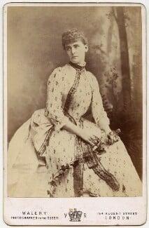 Frances Evelyn ('Daisy') Greville (née Maynard), Countess of Warwick, by Walery - NPG x46685