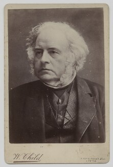 John Bright, by William Child - NPG x46686