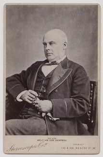 George Grenfell Glyn, 2nd Baron Wolverton, by London Stereoscopic & Photographic Company - NPG x46692