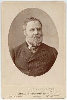 Frederick Beauchamp Paget Seymour, 1st Baron Alcester, by John Maclardy - NPG x46694