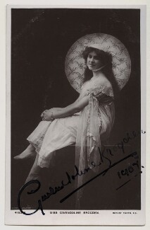 Gwendoline Brogden, by The Dover Street Studios Ltd, published by  Rotary Photographic Co Ltd - NPG x4680