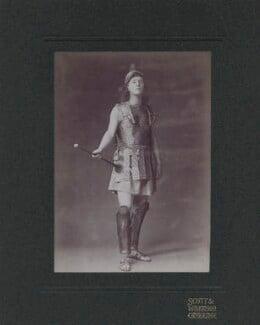 Rupert Brooke as as the Herald in 'Eumenides', by Scott & Wilkinson, 1906 - NPG x4698 - © National Portrait Gallery, London