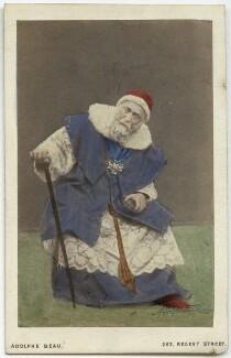 John Brougham as the Cardinal in in 'Bel Demonio', by Adolphe Paul Auguste Beau - NPG x4711