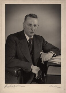 Sir Arthur Percy Morris Fleming, by Hay Wrightson - NPG x47193